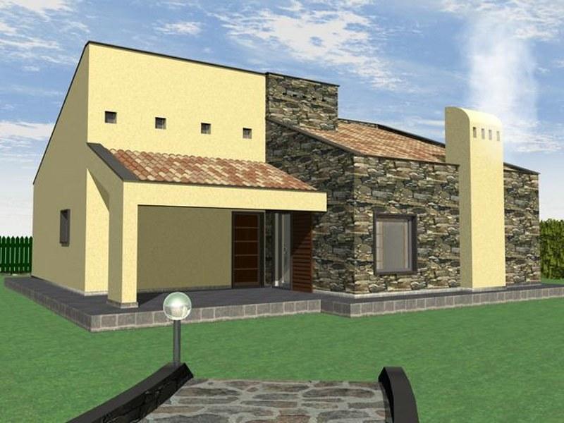 Terreno edificabile con progetto approvato case e arte for Planimetria giardino