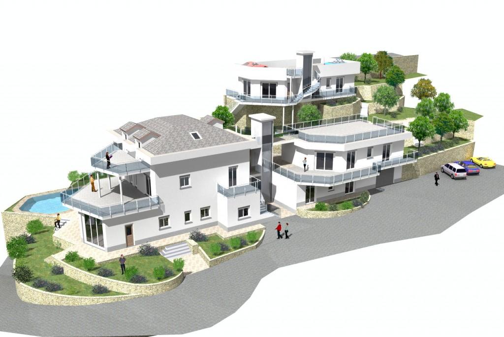 Splendida villa di nuova costruzione case e arte agenzia for Case unifamiliari di nuova costruzione
