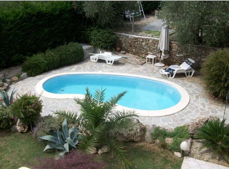 Giardino con piscina carmine leone francesca de angelis leidea e